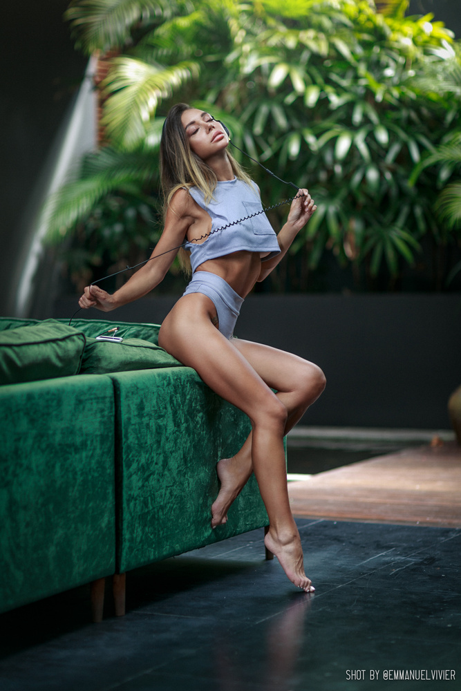 Katerina while in Bali by Emmanuel Vivier