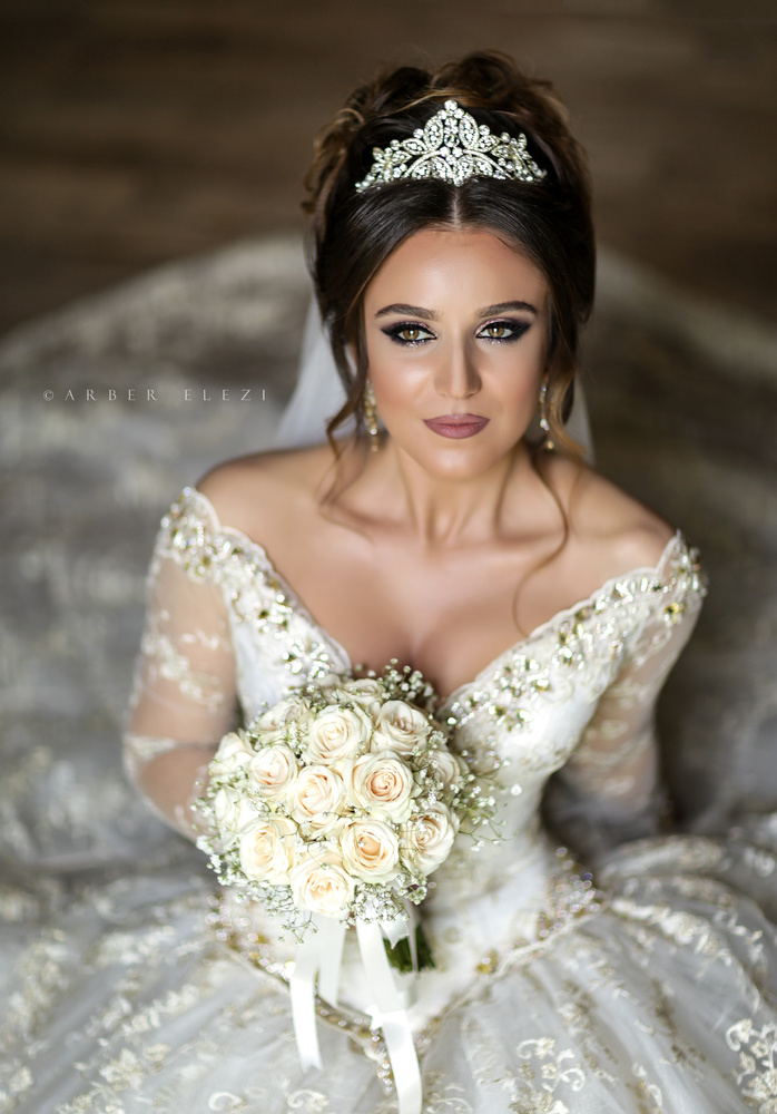 Bridal Portrait by Arber Elezi