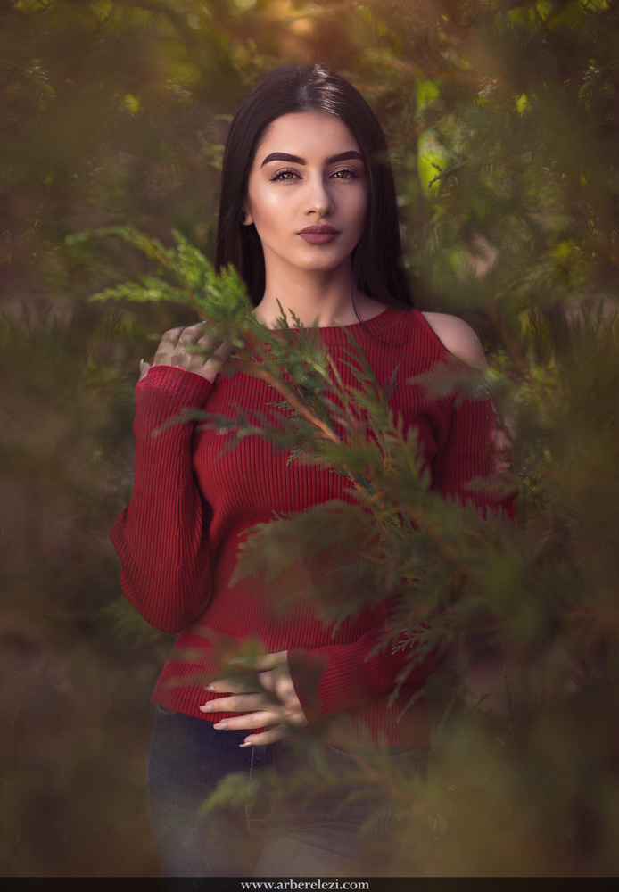 Natural Light Portrait by Arber Elezi
