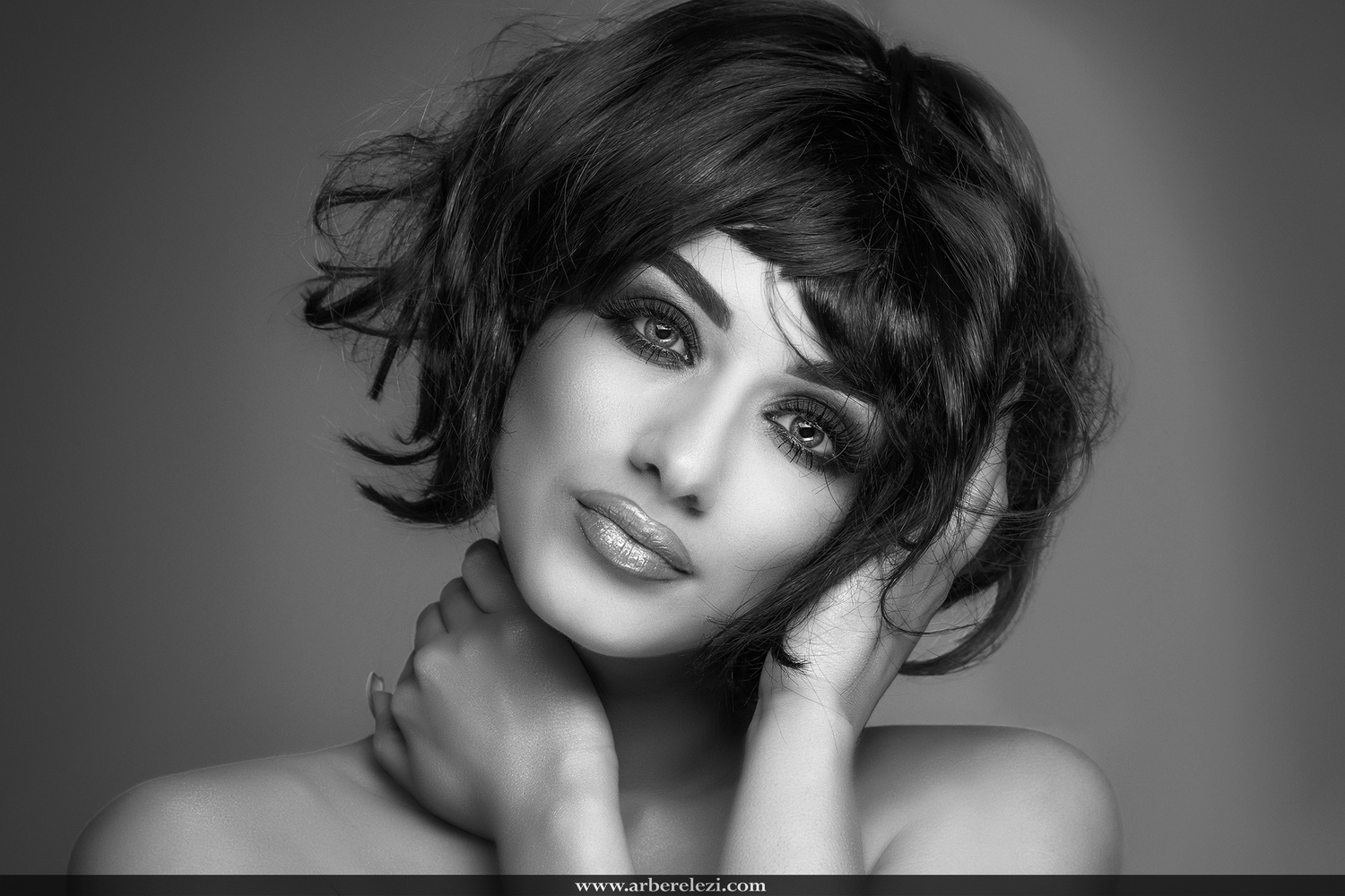 Beauty Shot in B&W version by Arber Elezi
