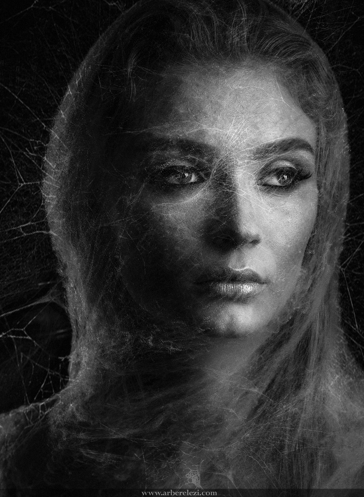Artistic Portrait  by Arber Elezi