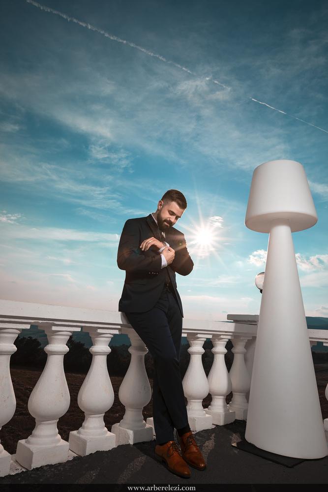 Groom Shot by Arber Elezi