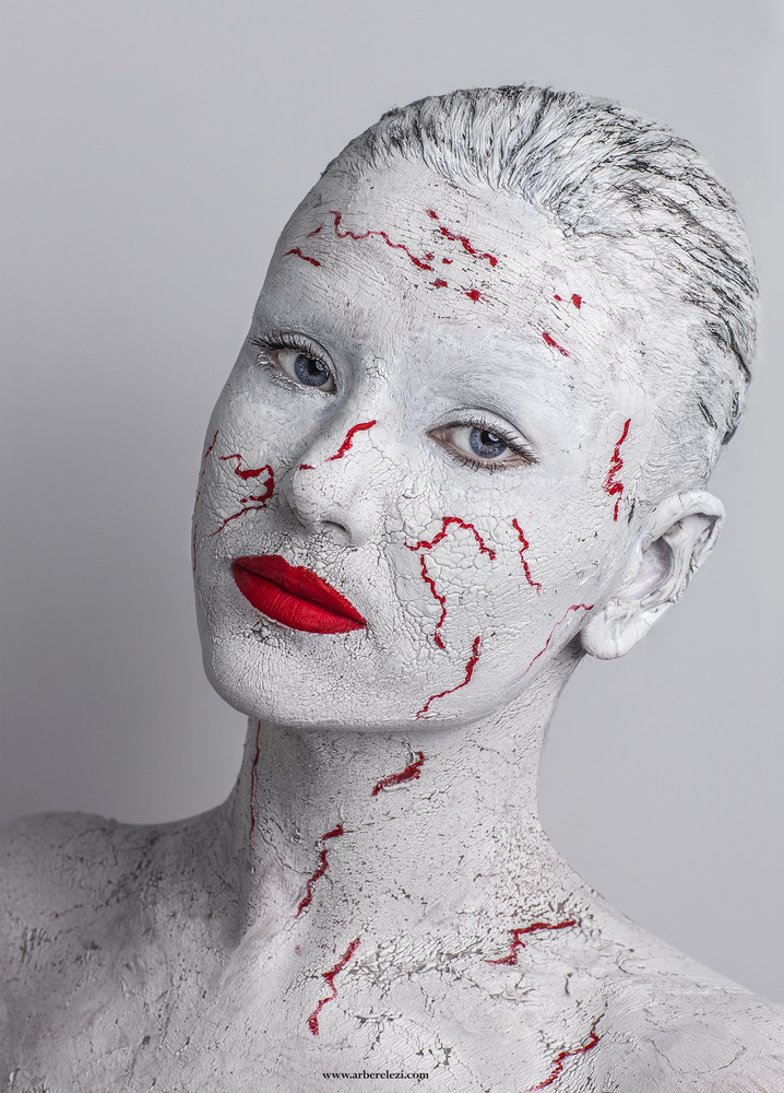 Stone Statue Makeup & Photography! by Arber Elezi