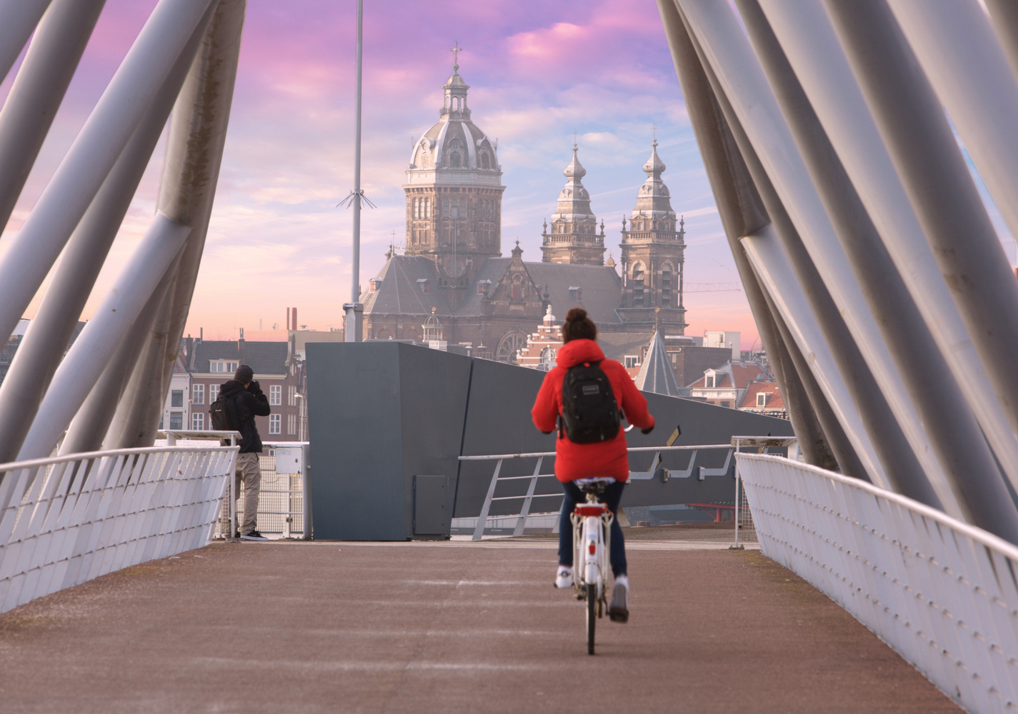 Bridge to the past by Idan York