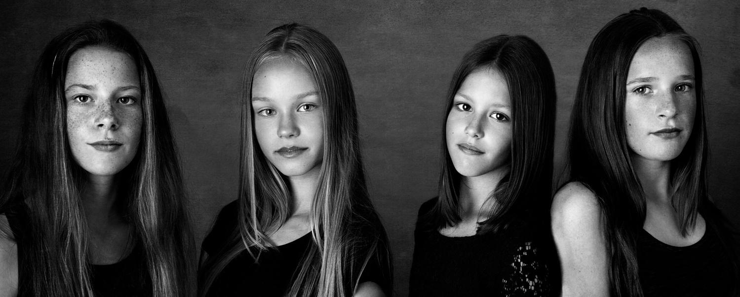 Dutch Girls by Max Chesnokov