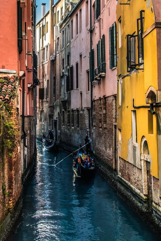 Venice canals  by Luka Jazić