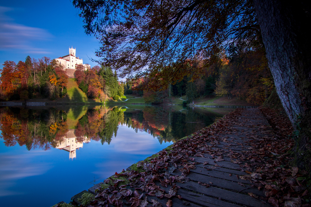 Trakošćan castle by Luka Jazić