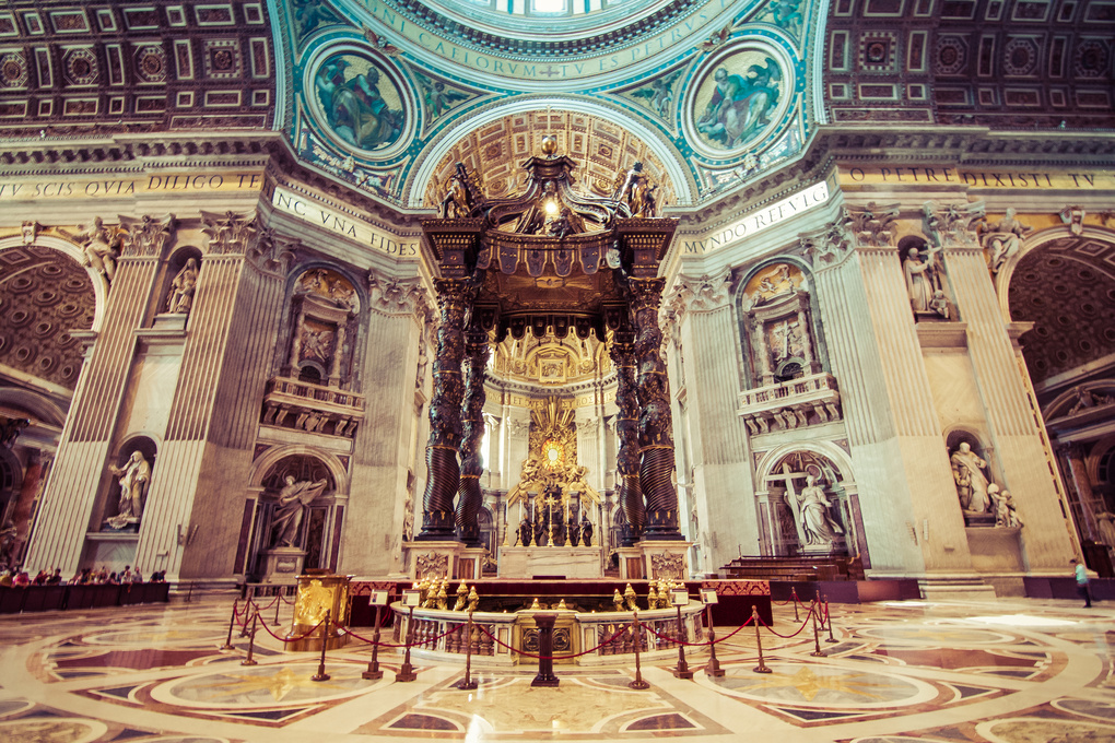 St. Peter's Basilica by Luka Jazić