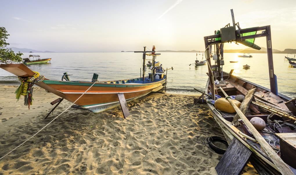 The Fishermans Village by Eerik Sandstrom