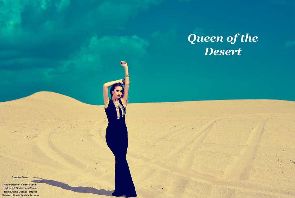 Queen of the Desert by vineet suthan