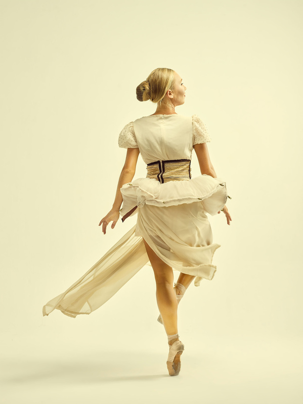 The Ballerina on the dance floor by vineet suthan