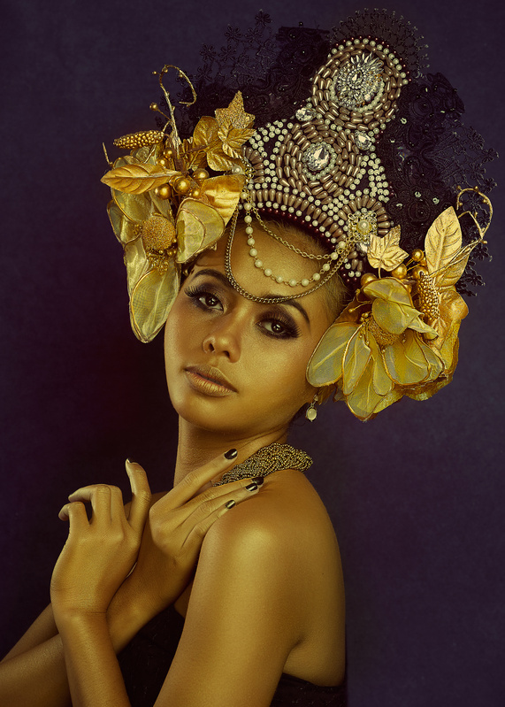 Beaty with a Headress by vineet suthan