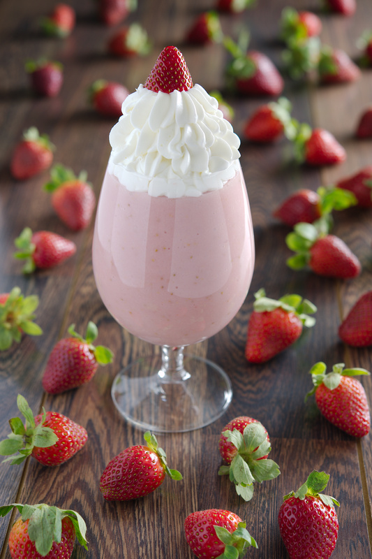 Strawberry mousse by Alaa Eladl
