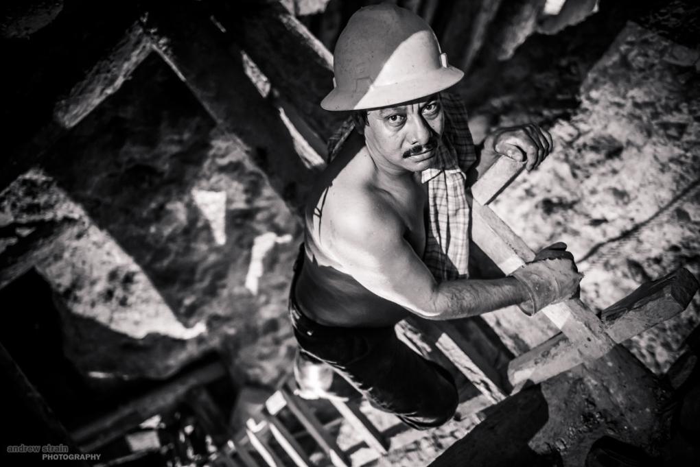 Honduran Miner by Andrew Strain