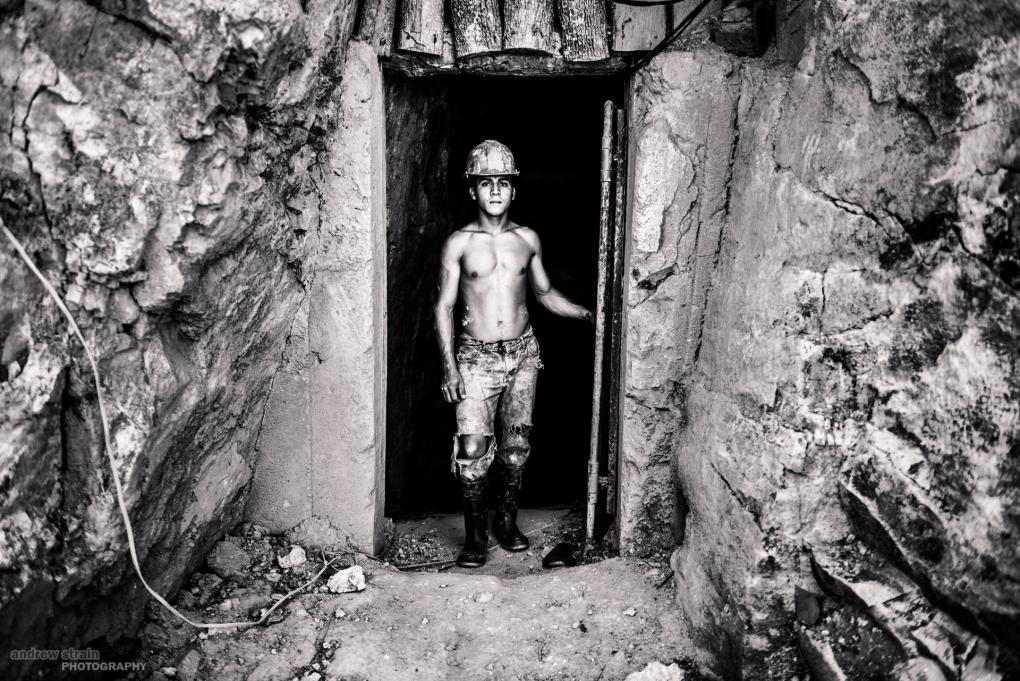 Honduran Miner 2 by Andrew Strain
