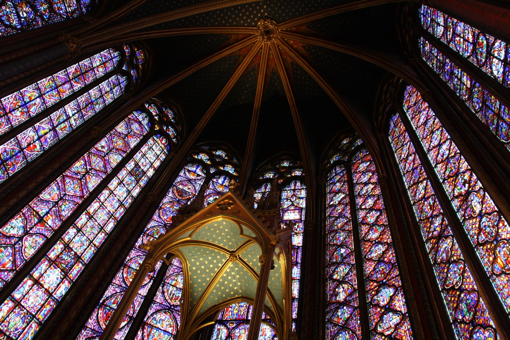 Mother of - Sainte Chapelle - glasses! by Giovanni Polvani