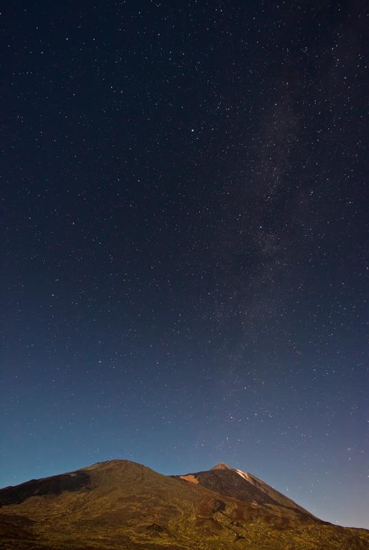 Stars over El Teide by Giovanni Polvani