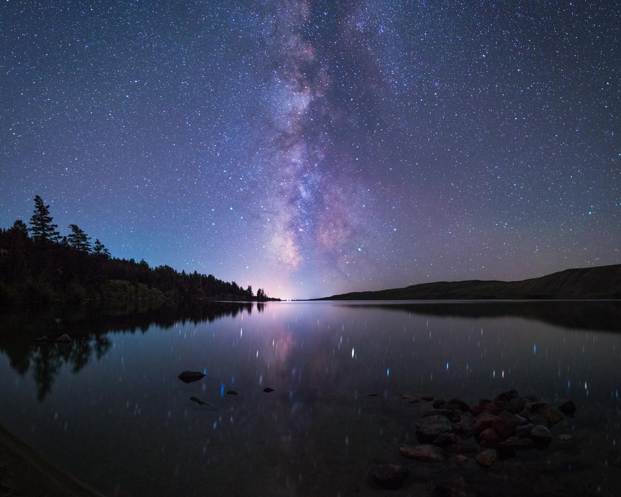 Bridger Teton Milky Way by JT Blenker
