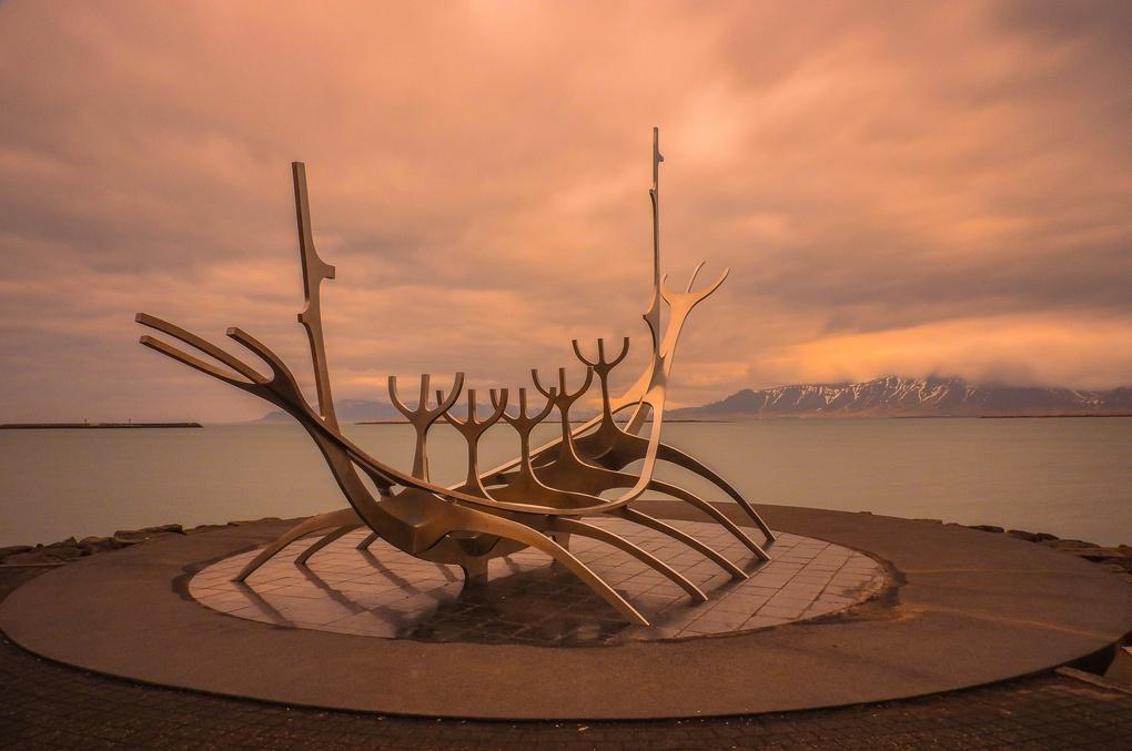 Sun Voyager, Reykjavik by Chris Howard