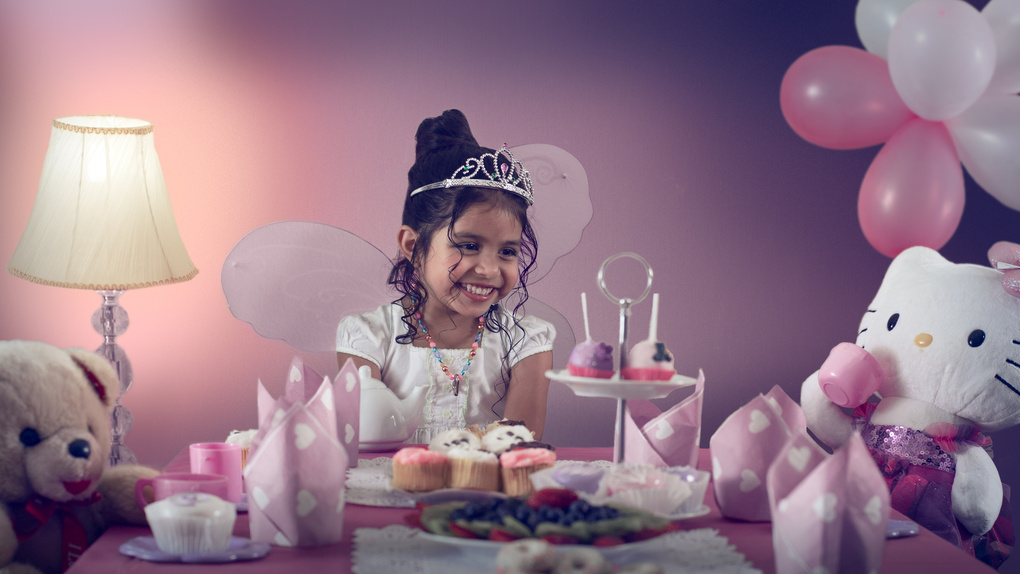 Princess Tea Party by Mujtaba Sayed