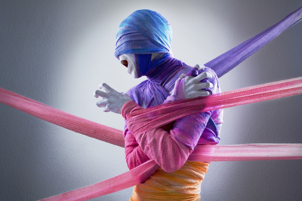 Wrapped in Colour by Mujtaba Sayed