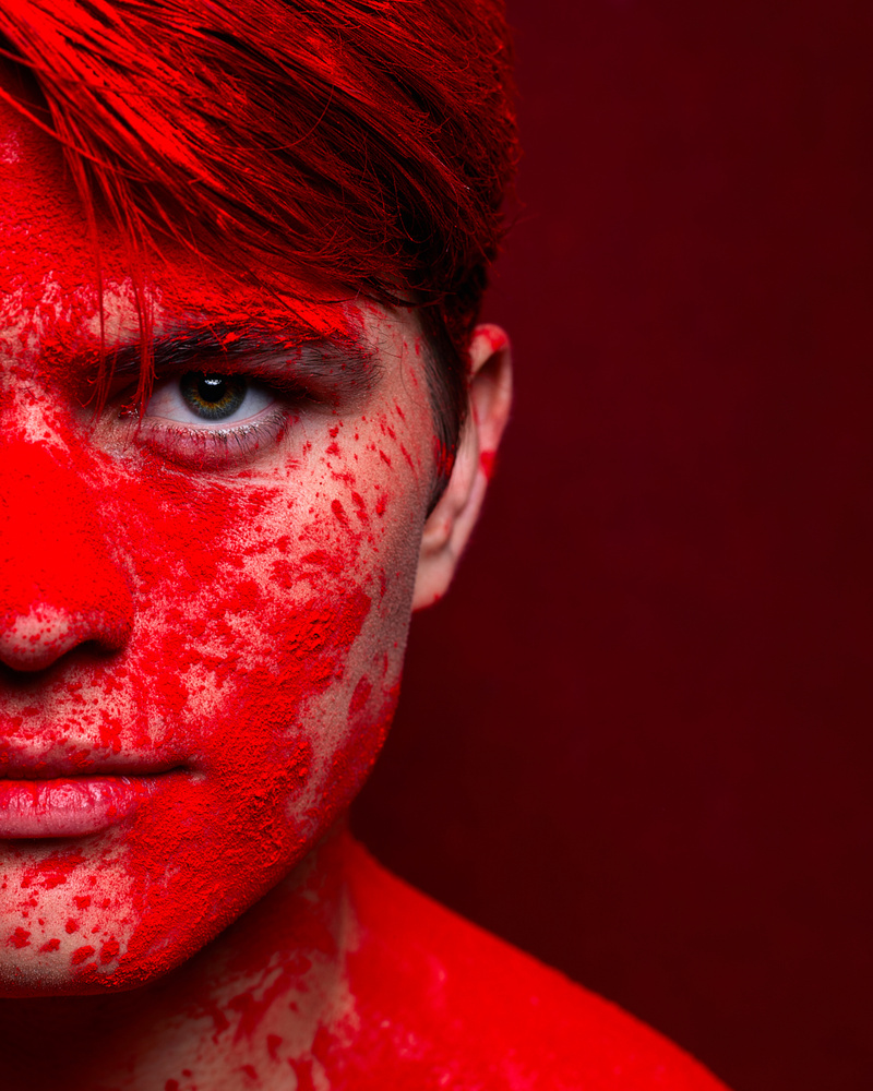 red by Carlos Salazar