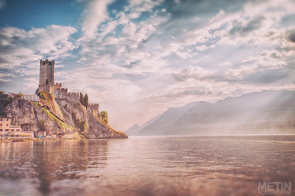 Castle Malcesine  by Metin Yirtici