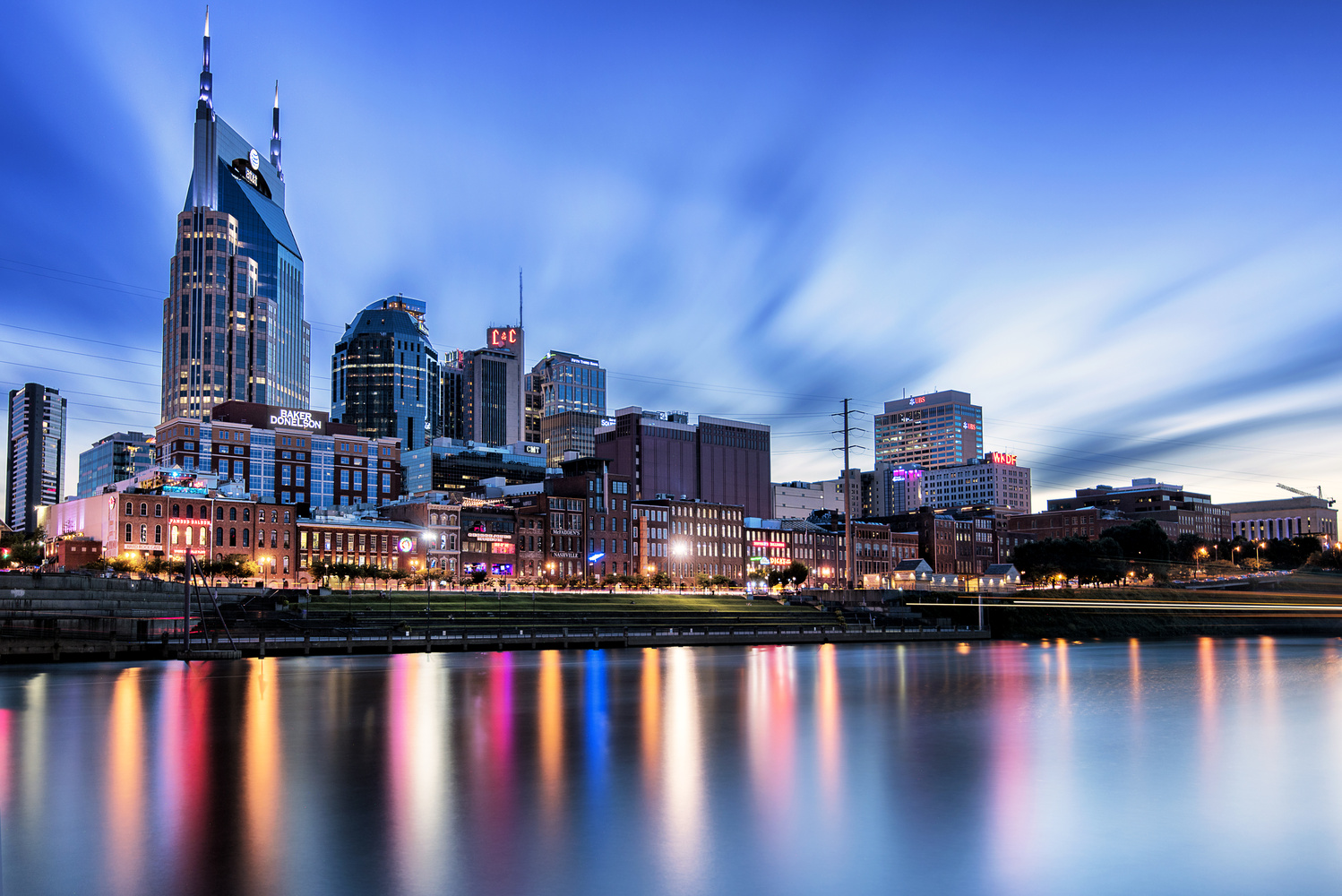 Downtown Blue Hour  by Quinn Kananack
