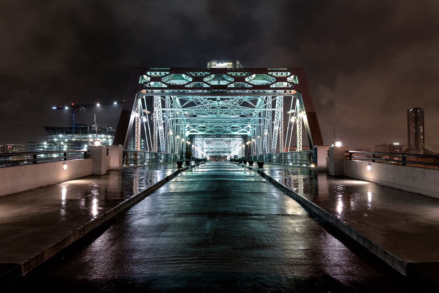 Drenched Bridge by Quinn Kananack