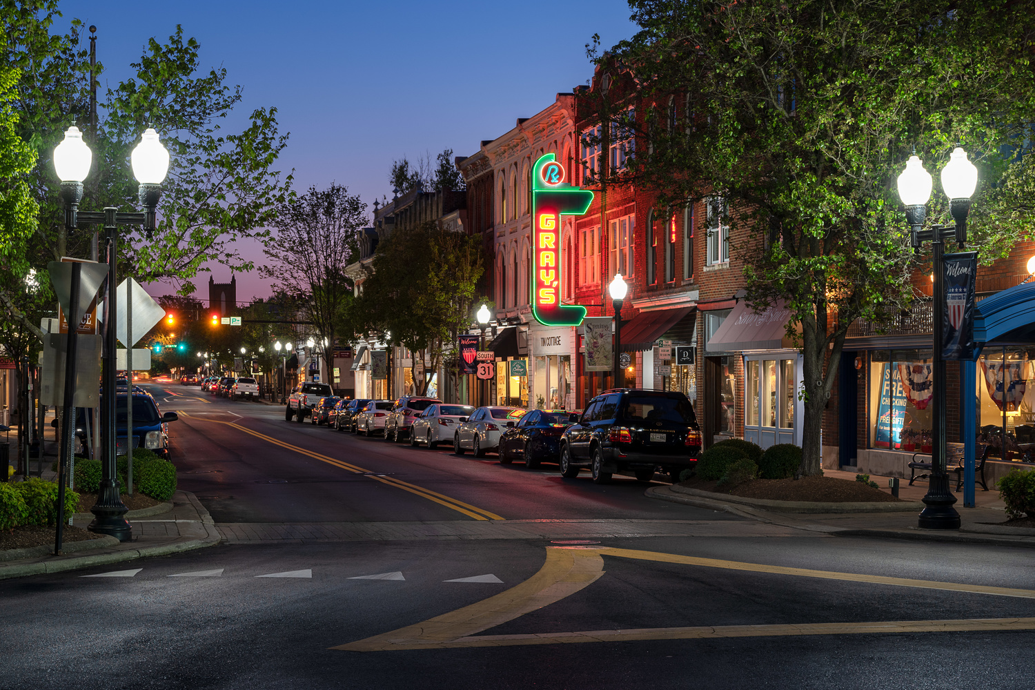 Downtown Franklin Square by Quinn Kananack