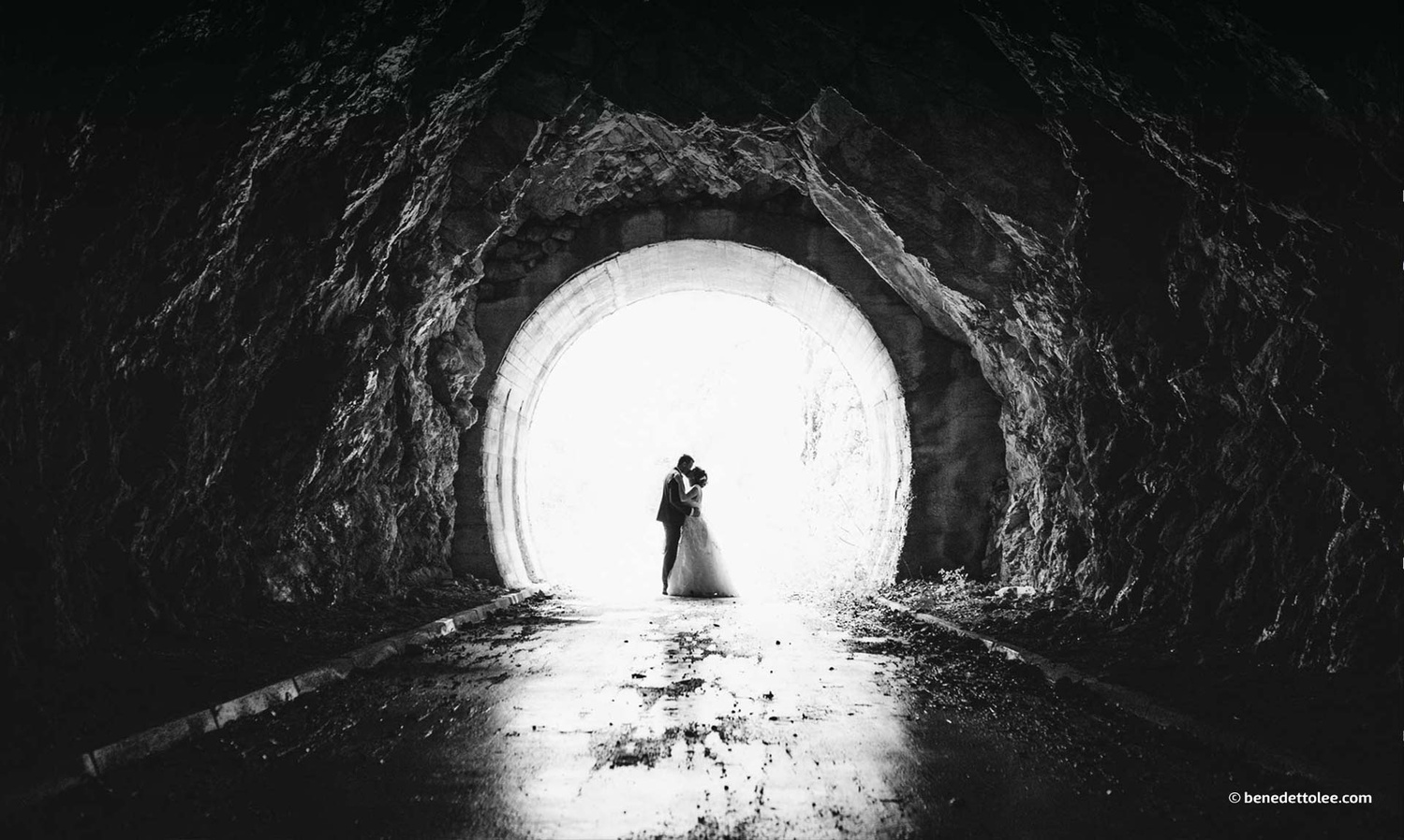 Light at the end of the tunnel by Benedetto Lee