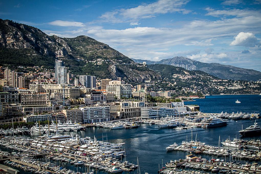 The port of Monaco by Louis-Philippe SEBAS