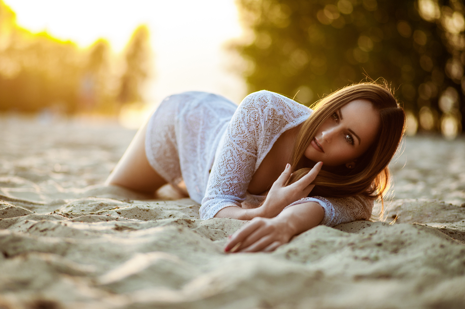 Evening at the Beach by Tobias Glawe