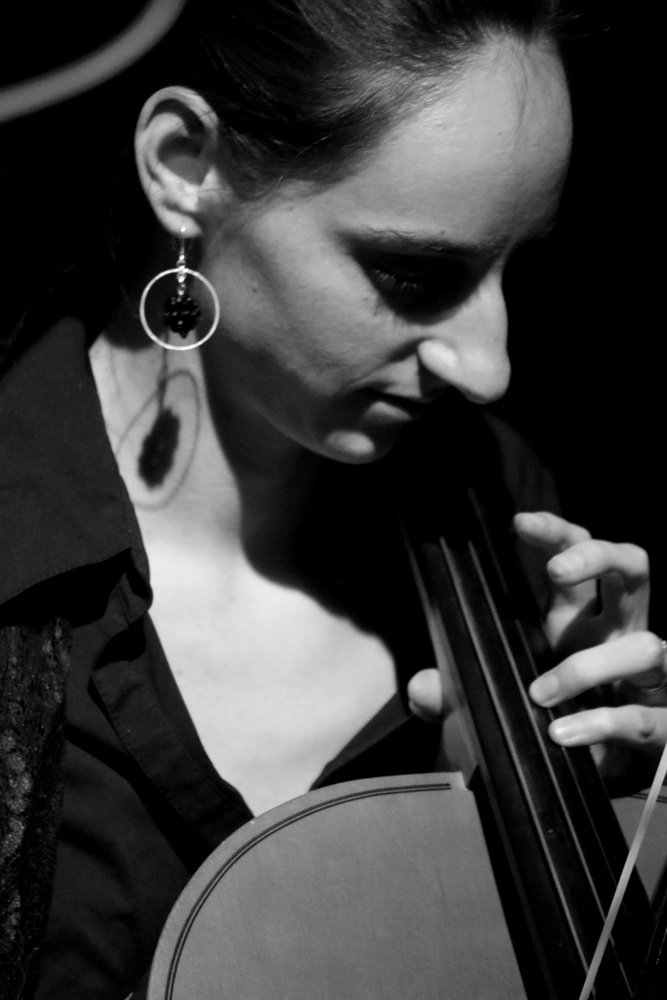 Cellist by Renee Olmsted
