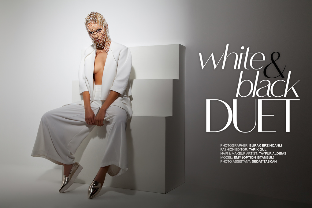 Editorial: White & Black Duet by Burak Erzincanli