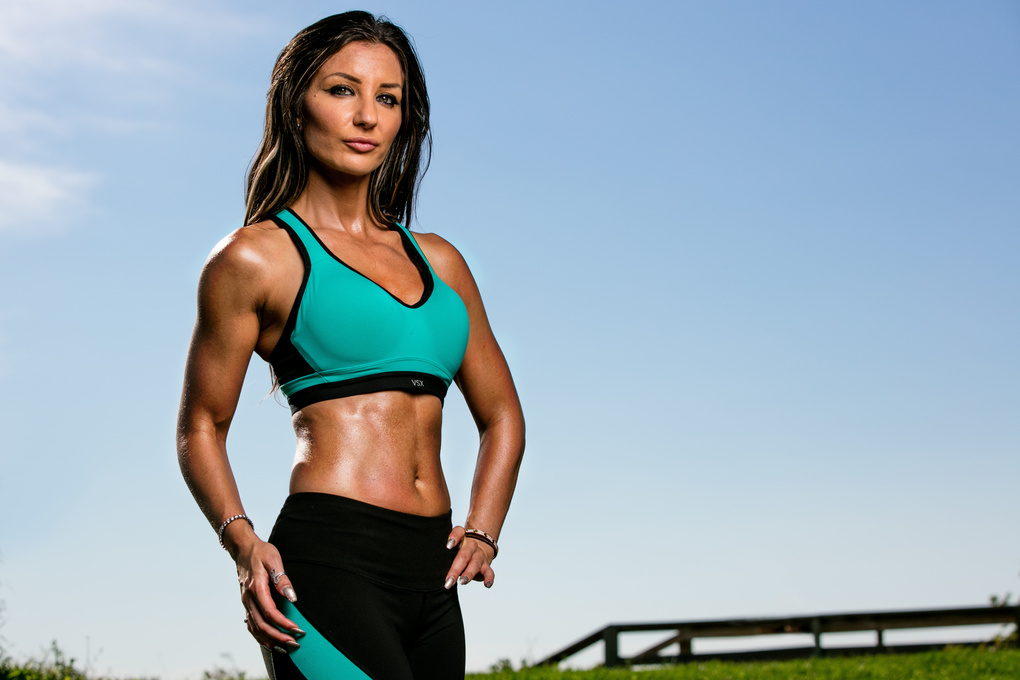 My first outdoor fitness shoot  by Keith Swekla