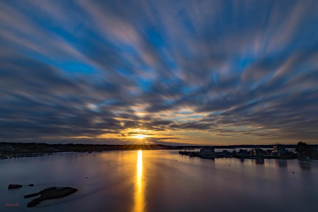 Westport Harbor by Erik Pancyck