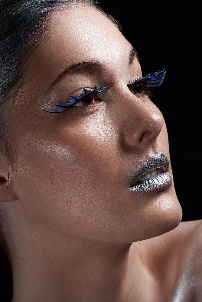 Silver mermaid by Olivier Lannes