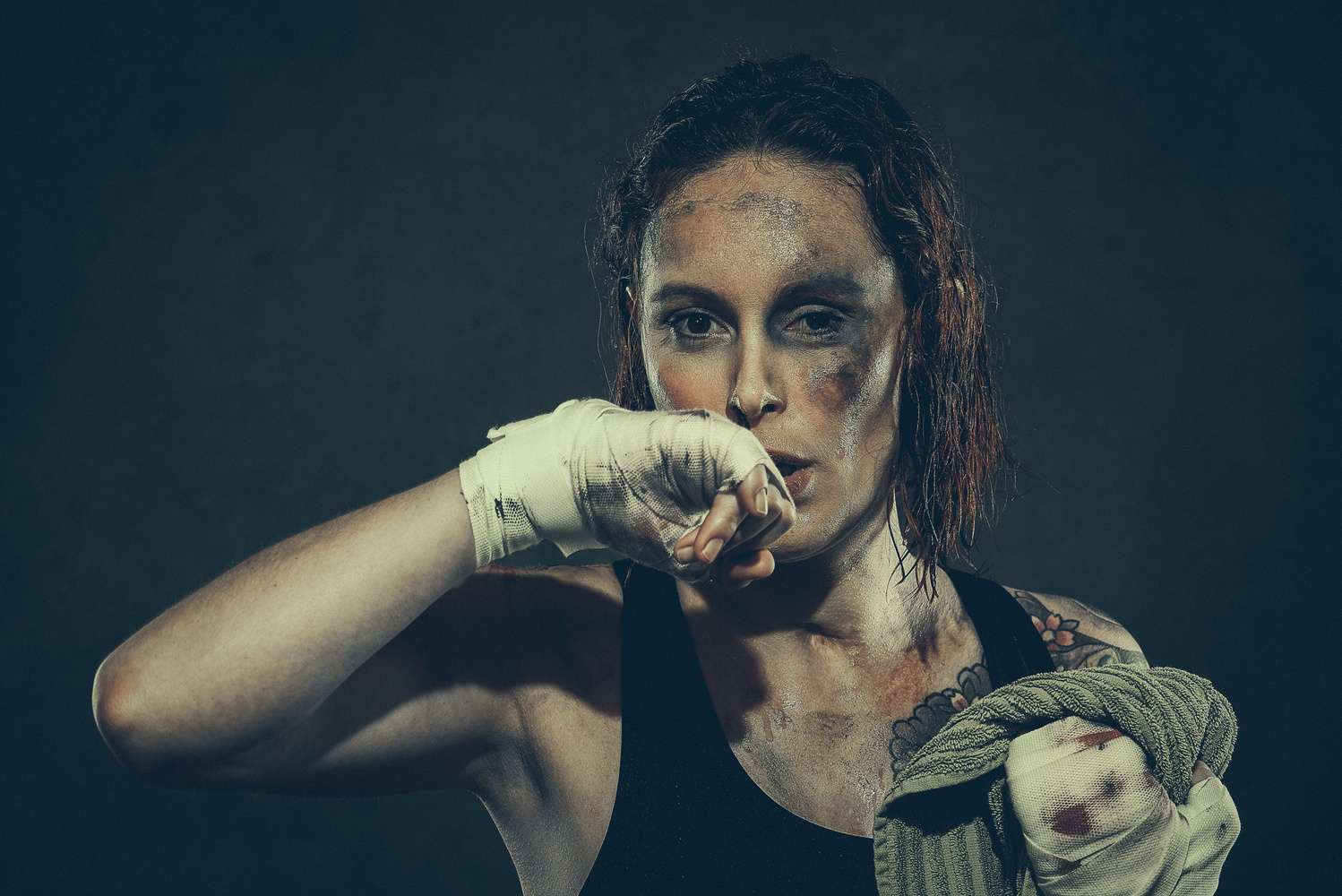 Boxe by Olivier Lannes