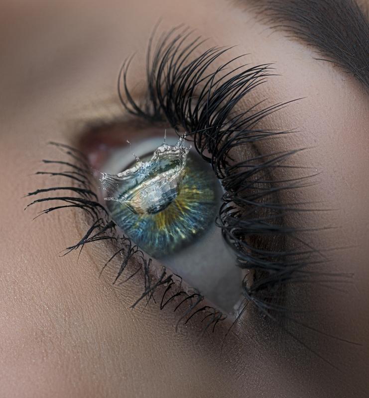 Eye drop by Howard Ashton-Jones