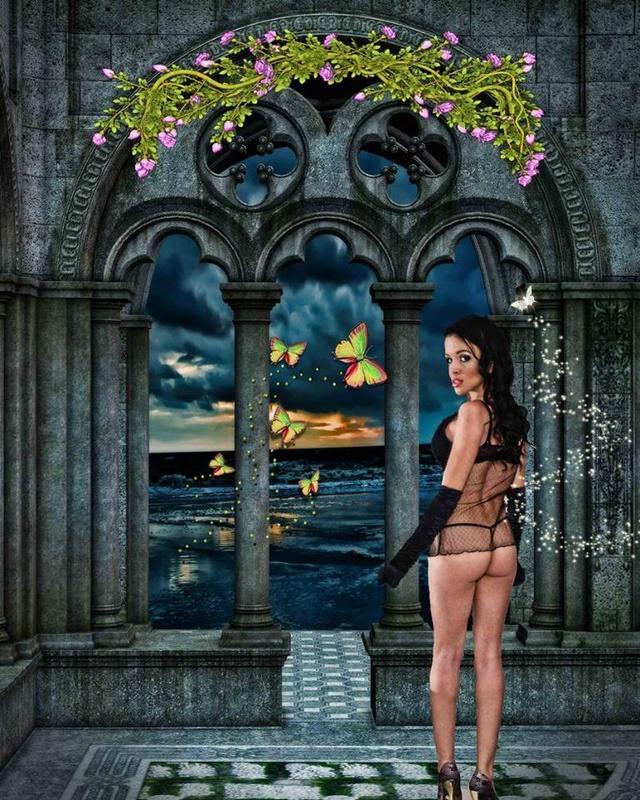Lingerie Fantasy by Luigi Hernandez