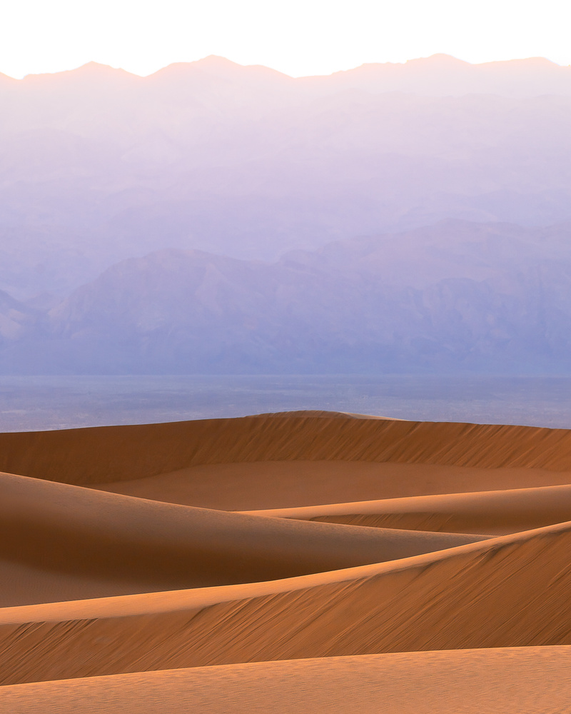 Mesquite Dunes, Death Valley National Park by Richard Barcelo