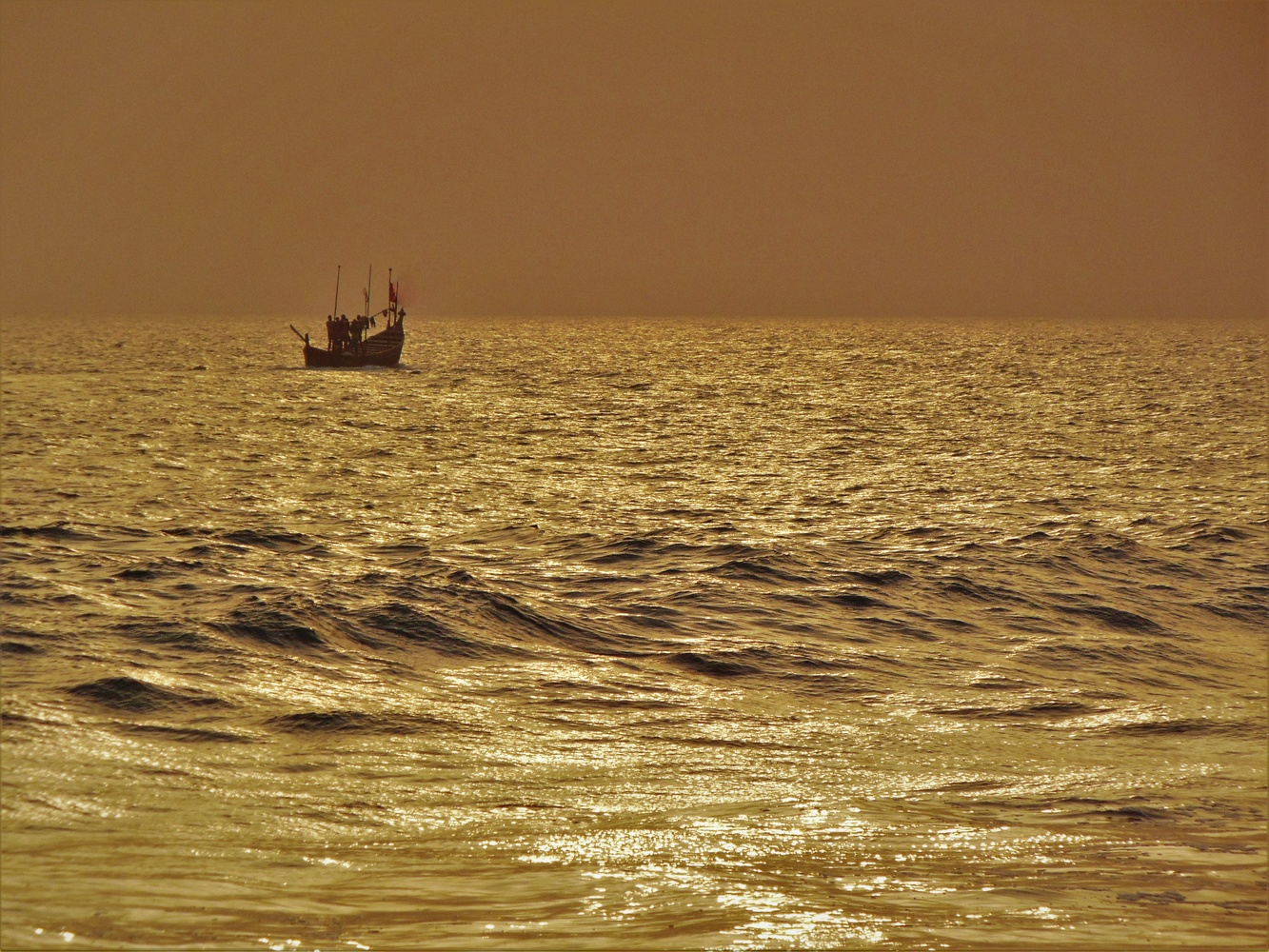 Journey through the Golden Sea of Time... by Hasnat Karim