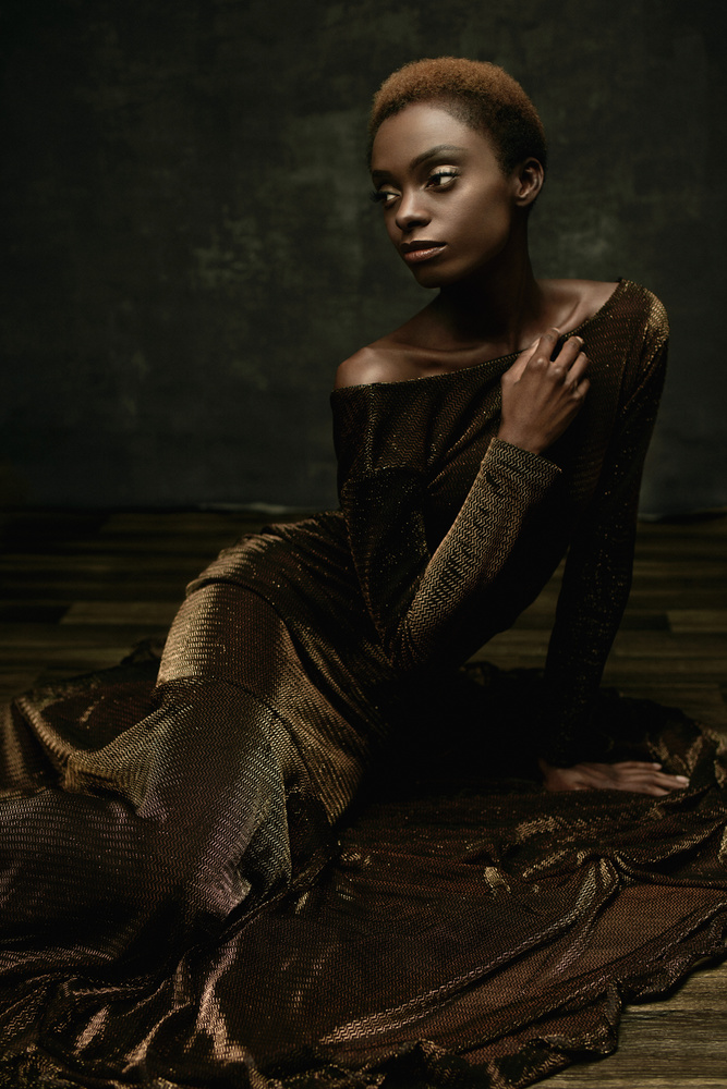 Black is Beauty by Angela Perez