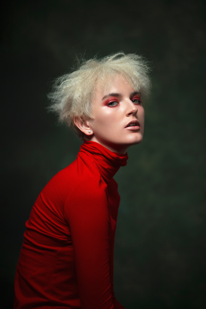 When in doubt, wear red. by Angela Perez