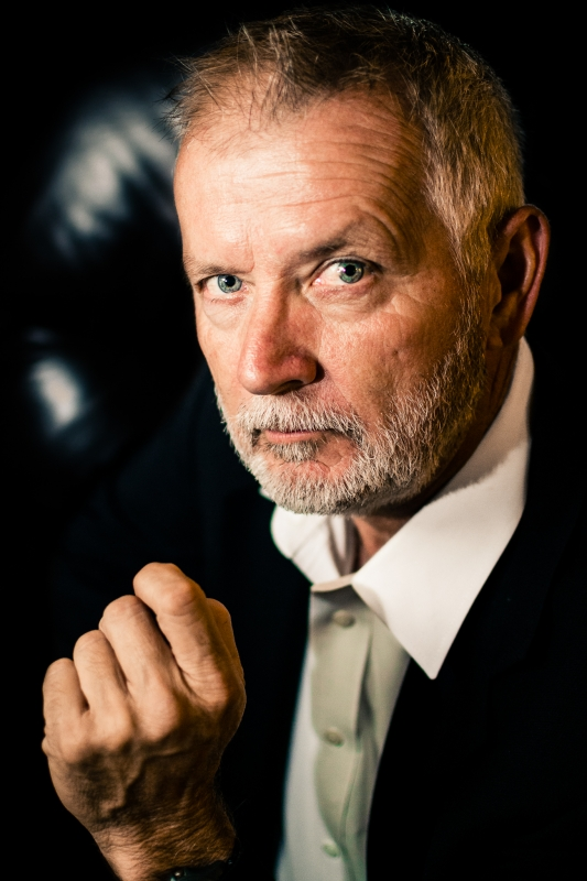 Most Interesting Man by David Cox