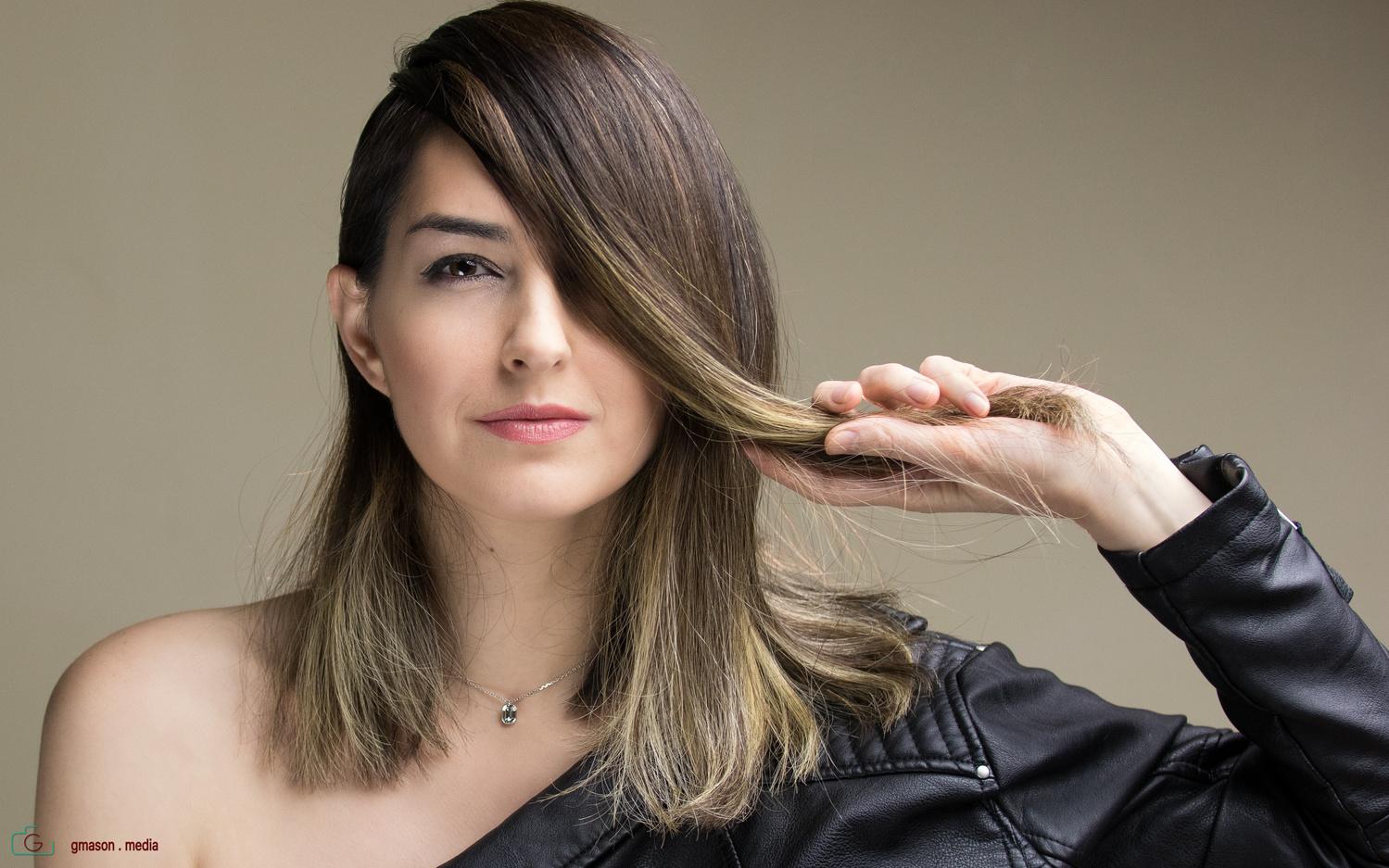 A bit of hair pulling by Gavin Mason