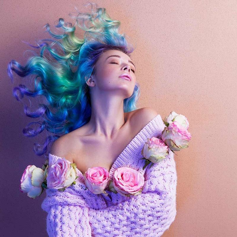garden roses by Daryna Barykina
