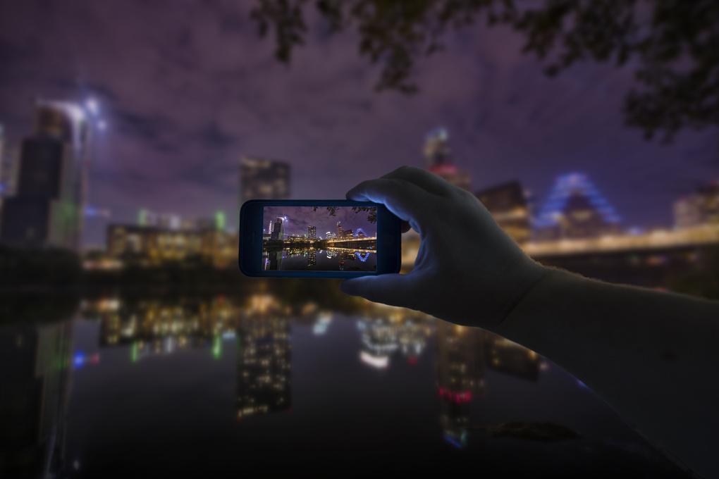 Austin Skyline by Jesse Drohen
