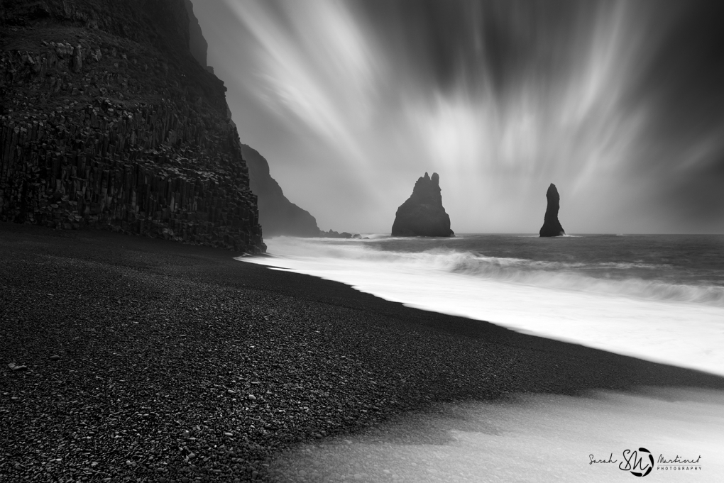Black an White view by Sarah Martinet